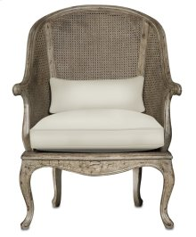 Devonshire Chair - 44.5h x 33w x 31d