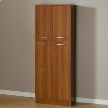 4-Door Storage Pantry - Morgan Cherry
