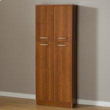 4-Door Storage Pantry - Morgan Cherry