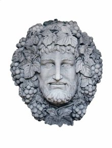 Bacchus Wall Plaque