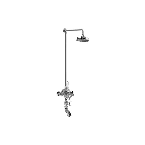 Exposed Thermostatic Tub and Shower System (Rough & Trim)