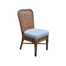 Side Chair, Available in Antique Palm Finish Only.