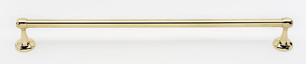 Royale Towel Bar A6620-24 - Polished Brass