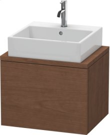 Delos Vanity Unit For Console Compact, American Walnut (real Wood Veneer)