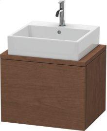 Delos Vanity Unit For Console Compact, American Walnut (real Wood Veneer)