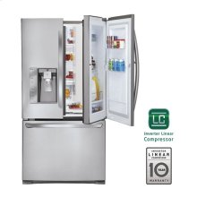 31 cu. ft. Super Capacity 3-Door French Door Refrigerator w/Door-in-Door®