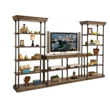 SONOMA ENTERTAINMENT DISPLAY 16753 DISPLAY PIER WOOD, 16853 DISPLAY PIER IRON, 17053 TV CONSOLE WOOD, 17153 TV CONSOLE IRON