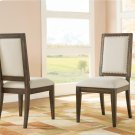 Modern Gatherings - Upholstered Side Chair - Brushed Acacia Finish Product Image