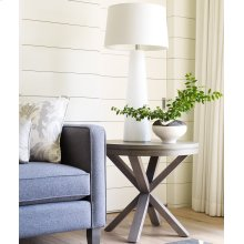 Round Lamp Table