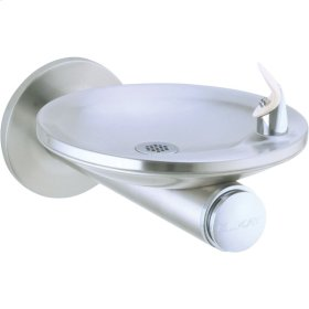 Elkay SwirlFlo Single Fountain Wall Mount Non-Filtered, Non-Refrigerated Stainless