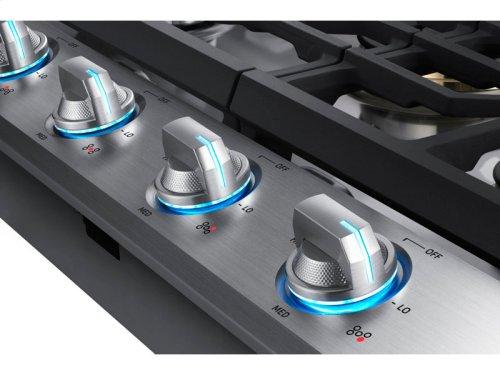 "30"" Gas Cooktop with 22K BTU True Dual Power Burner"