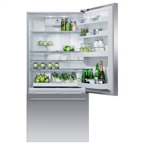 "Fisher & PaykelFreestanding Refrigerator Freezer, 32"", 17.5 cu ft, Ice & Water"