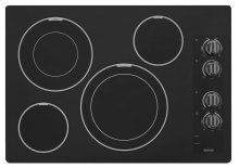 30-inch Electric Cooktop with Two Dual-Choice Elements