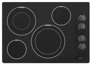 30-inch Wide Electric Cooktop with Two Dual-Choice Elements Product Image