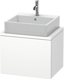Delos Vanity Unit For Console Compact, White Matt