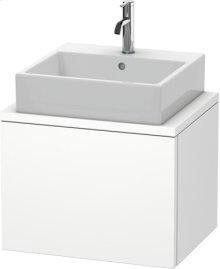 Delos Vanity Unit For Console Compact, White Matt