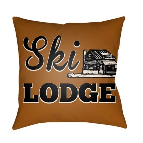 "Lodge Cabin LGCB-2036 22"" x 22"""