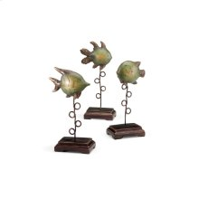 Plinthed Fish (set 3)