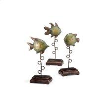 Plinthed Fish (set 3)