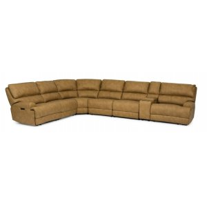 FlexsteelFloyd Power Reclining Sectional with Power Headrests
