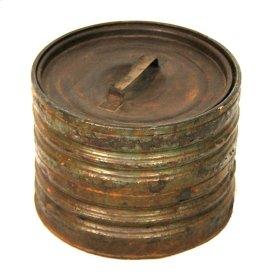 Buffalo Round Iron Box
