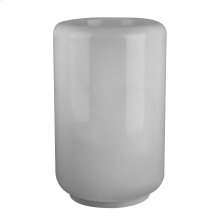 """Freestanding washbasin in White Gres without overflow waste Wall drainage 35-7/16"""" HIGH x 21-1/4"""" DIAMETER Waste in 031 Please contact Gessi North America for freight terms Not certified for use in North America"""