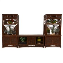 5400 Series Rattan Entertainment Center
