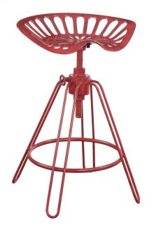 "Emerald Home Langston 24"" Bar Stool Barn Red D231-24"