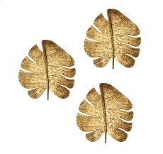 Gold Leaf Wall Art - Set of 3 Product Image