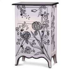 Carlyle 3 Drawer Bow Front Chest