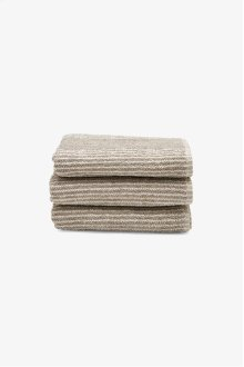 Tasha Hand Towel Linen with Cream Stripes STYLE: THHT02