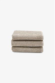 Tasha Hand Towel Linen with Cream Stripes STYLE: THHT02