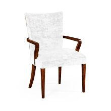 Biedermeier Style Mahogany Dining Armchair in COM