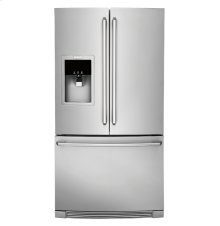 Standard-Depth French Door Refrigerator with Wave-Touch® Controls