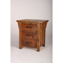 Stony Brooke - 24 X 30, 3 Drawer Nightstand With Corbels