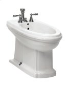 White BARRYMORE Floorstanding Bidet Vertical Spray Product Image