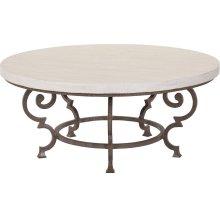 Ernest Hemingway Florentine Round Cocktail Table