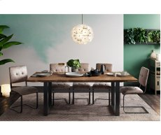 Carter Rustic Elm Table Product Image