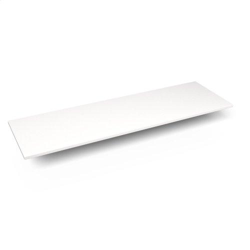 """Engineered Stone 61"""" X 19"""" X 3/4"""" Quartz Dry Vanity Top In White Zeus Extreme"""