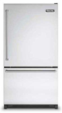"Stainless Steel 36"" Bottom-Mount Refrigerator/Freezer- VCBF (Left hinge)"