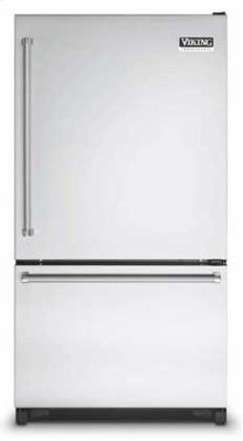 "Stainless Steel 36"" Bottom-Mount Refrigerator/Freezer- VCBF (Left hinge)"