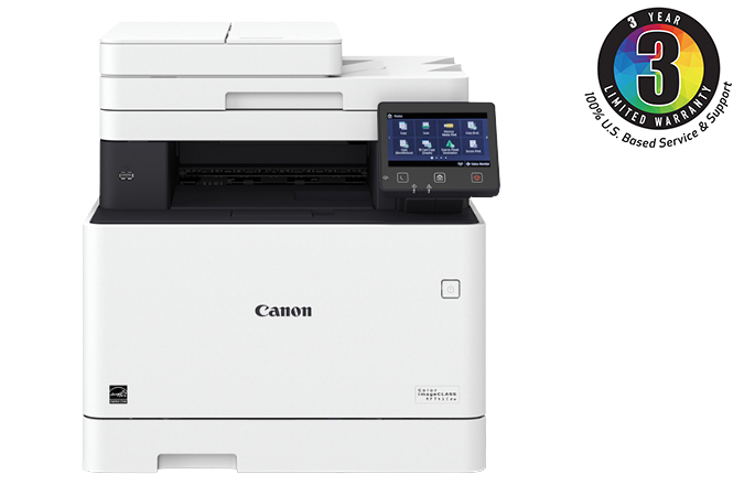 Canon Color imageCLASS MF741Cdw - Multifunction, Wireless, Mobile Ready, Duplex Laser Printer With 3 Year Limited Warranty Color imageCLASS Multifunction Laser Printer