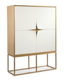 Pared Bar Cabinet