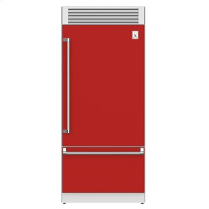 "Hestan36"" Pro Style Bottom Mount, Top Compressor Refrigerator - KRP Series - Matador"