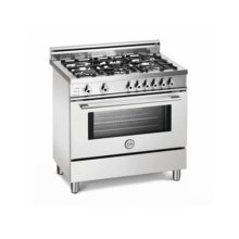 White 36 5-Burner, Electric Self-Clean Oven