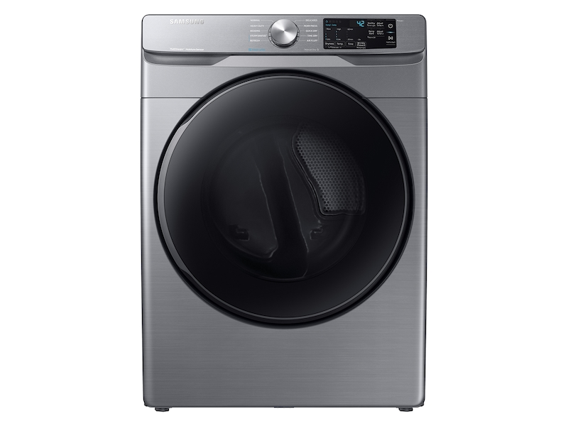 Samsung7.5 Cu. Ft. Electric Dryer With Steam Sanitize+ In Platinum