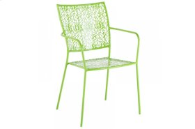 Martini Iron Stackable Bistro Chair - Key Lime