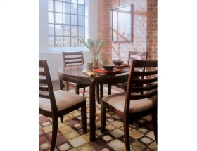 Round Leg Table-kd Standard Leaf