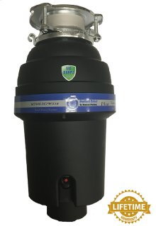 Perfect Grind® Waste Disposer - Continuous Feed 3-Bolt Mount 1-1/4 HP
