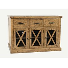 Telluride 3 Drawer Sideboard